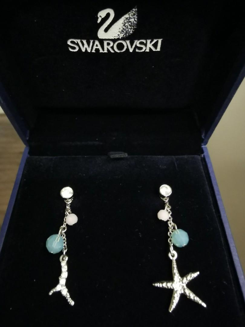 Swarovski Earrings Women S Fashion Jewellery Earrings On Carousell