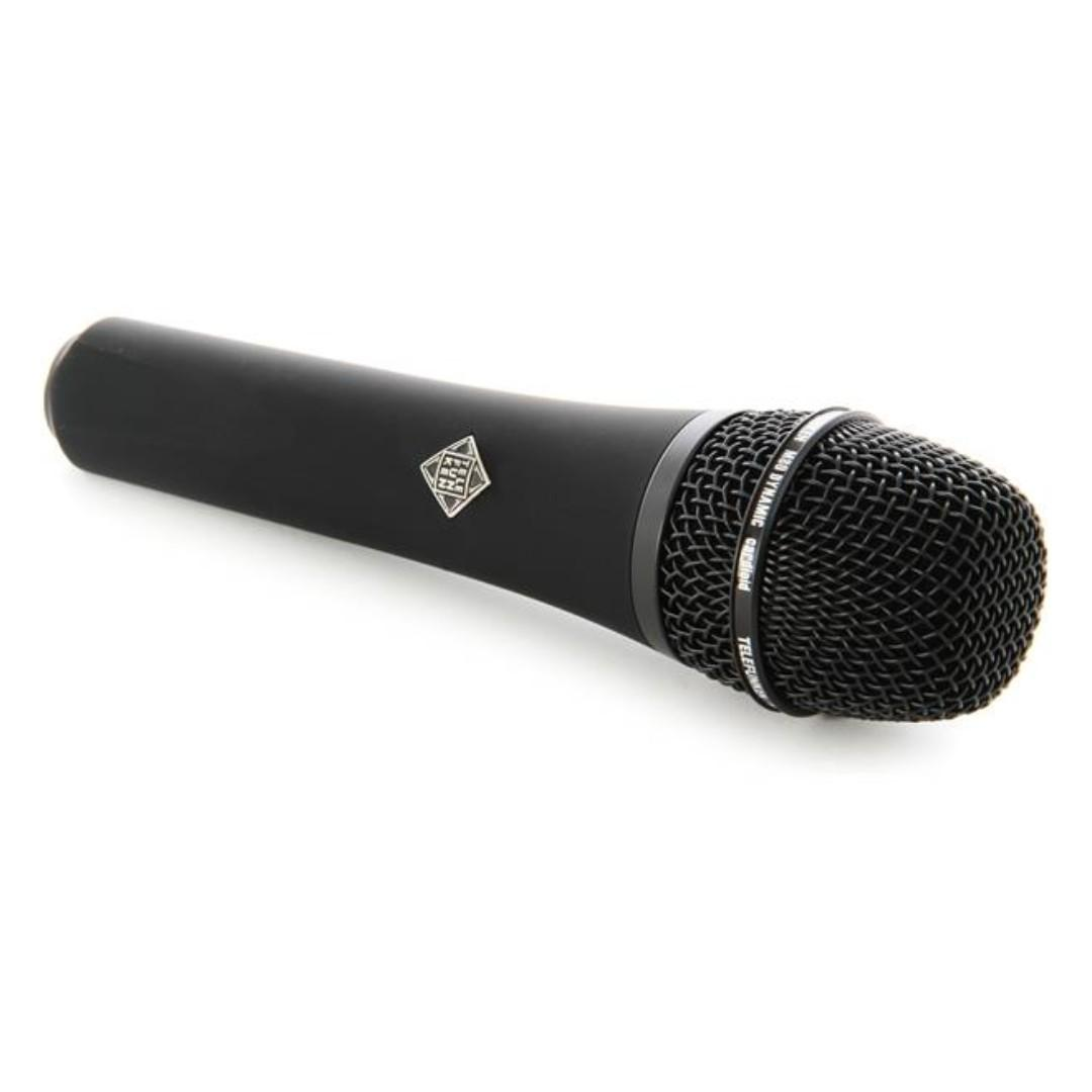 Telefunken M80 Handheld Dynamic Vocal Microphone - Black Dynamic Microphone with Supercardioid Pickup Pattern M80 Handheld Dynamic MICROPHONE 咪 錄音咪 Supercardioid MIC