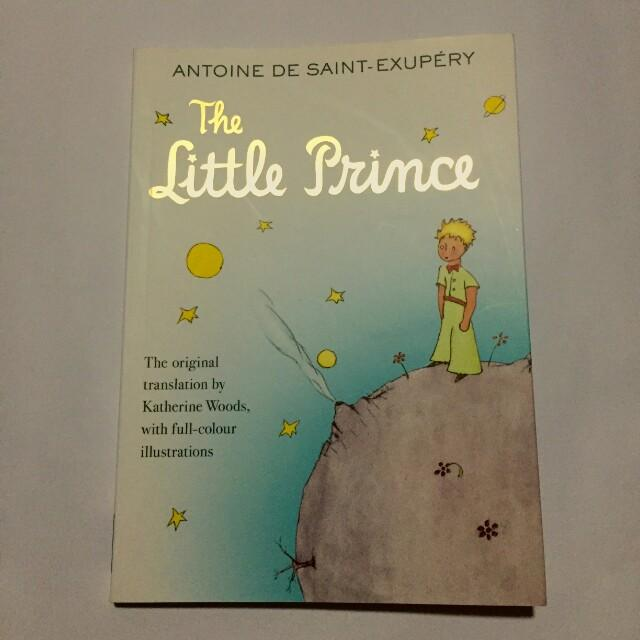 #MrSpeedyCarousell The Little Prince by Antoine de Saint Exupery - Original translation and colorful illustrations