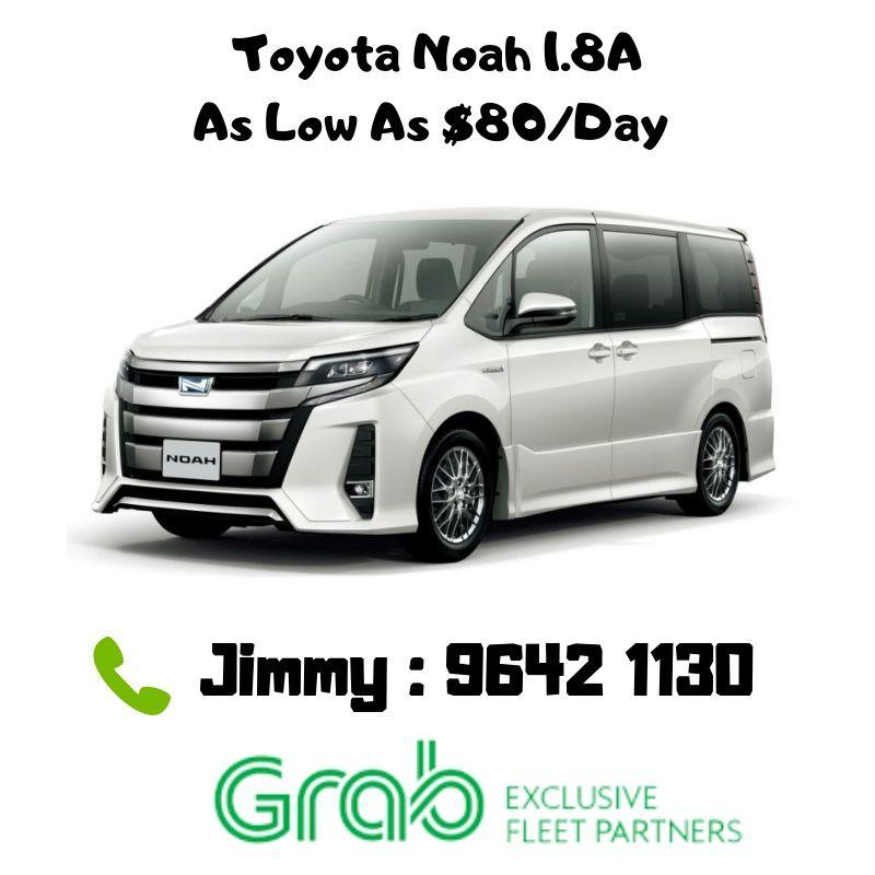Toyota Noah with Rental Rebates