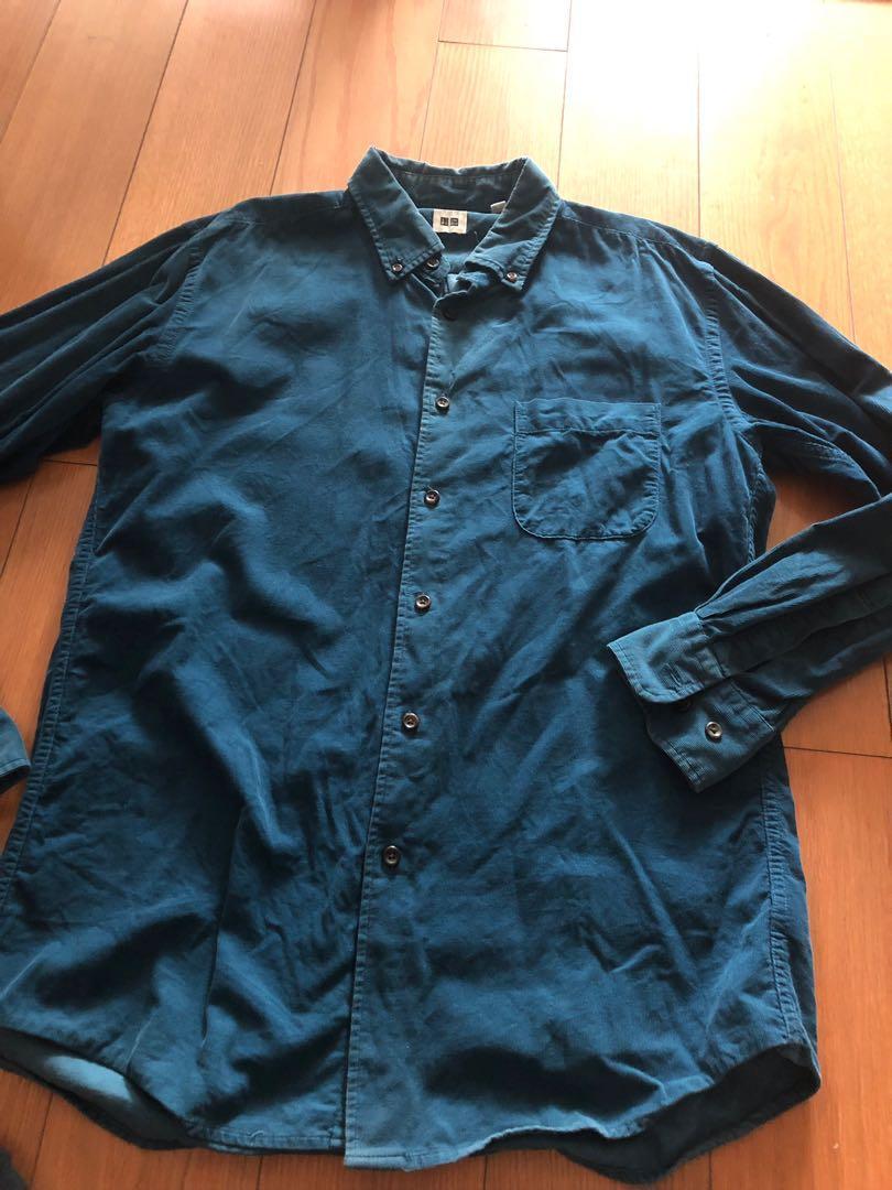 Uniqlo corduroy shirt *020