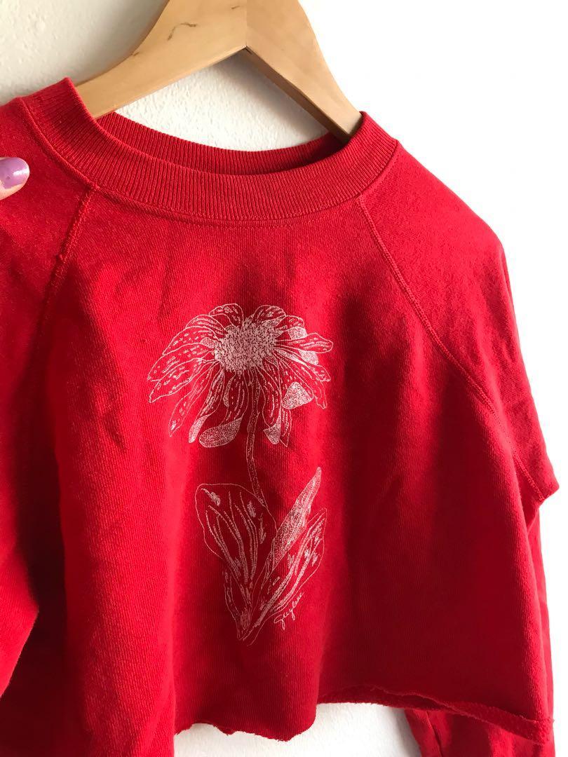 Vintage Crop 90s Sweatshirt