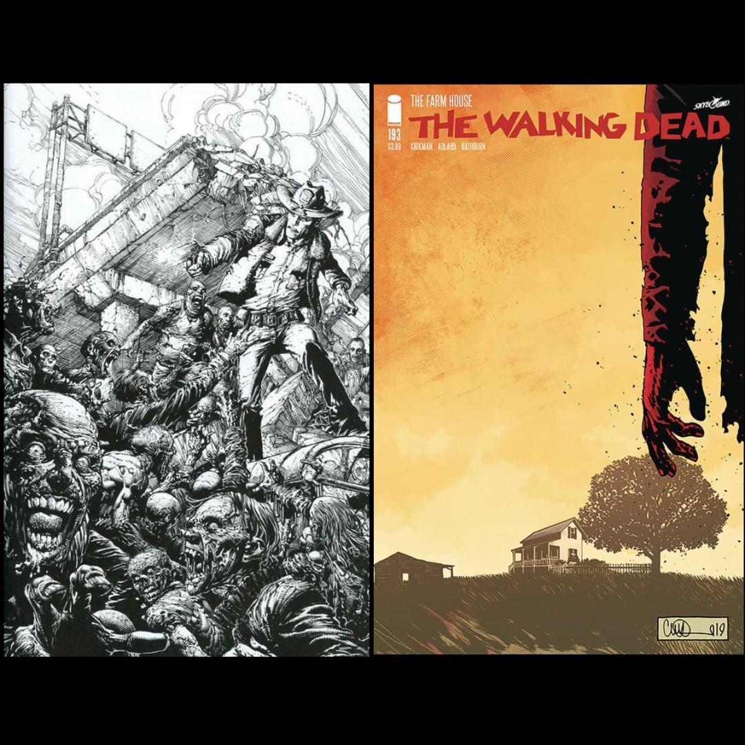 Final Issue Walking Dead 2019 #193 Image Comics UNREAD NM First Print
