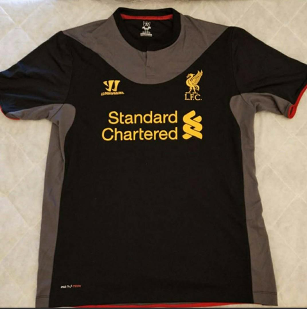 release date 0ce79 98abc Warrior Liverpool Away Jersey 2012 Season #MRTSerangoon ...