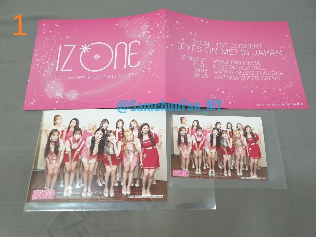 [WTS] IZ*ONE Eyes On Me Japan - Kobe EXCLUSIVE group photo