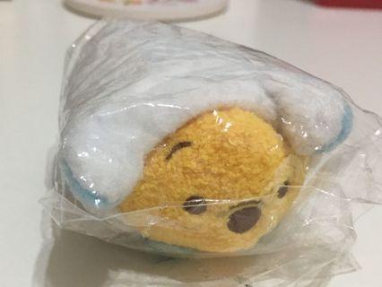 (贈品-請先購買賣場內其他商品)迪士尼 tsumtsum 小熊維尼