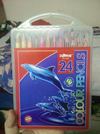 Dolphin Colour Pencils