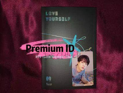 [UNSEALED ALBUM] BTS - Love Yourself, Tears (O Ver. + Poster)