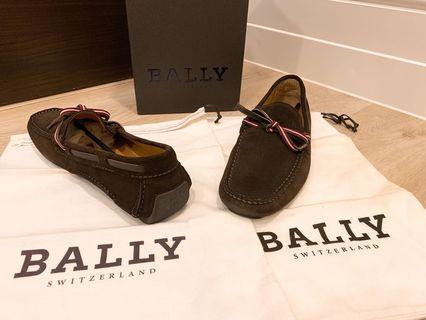 BALLY正品9號42號-麂皮8成新-原價兩萬
