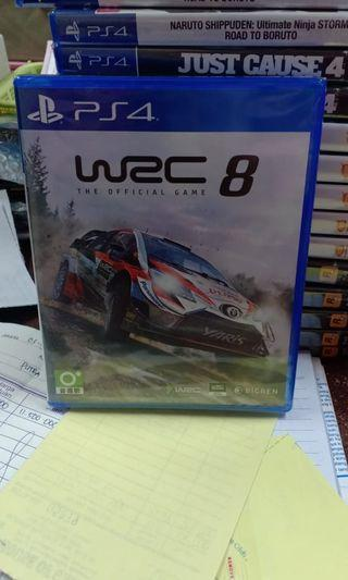 Kaset PS4 WRC 8 REGION 3