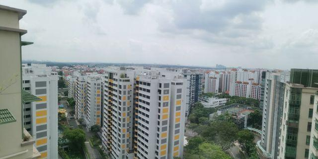 Very High floor unblock view at Windermere Condo