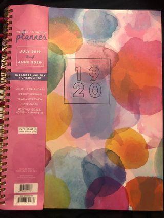 2019-2020 planner