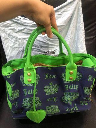 含運 Juicy Couture 兩用手提背袋