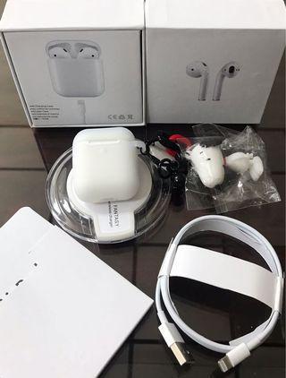 台灣發貨 airpro2 藍芽5.0耳機,贈無線充電盤