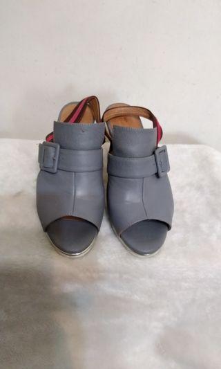 BIS- VITAL專櫃品牌 魚口高跟涼鞋37號