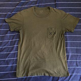 Uniqlo kaws 聯名 短袖 t恤 t-shirt