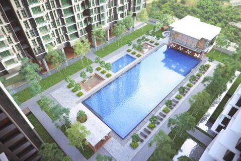 Hilltop View 3rooms 2bath @ Greenery Concept + High Cashback + Fully Furnished