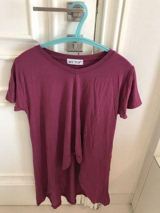 Tshirt fuschia pink