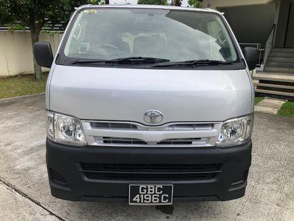 Toyota Hiace manual $1250