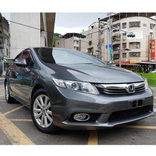 瑋哥車坊 正2014年 Honda Civic九代 K14 1.8天窗頂級版 10吋安卓機保固一年!保證只要38.8萬!