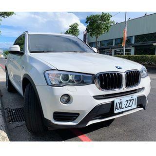 瑋哥車坊 正2015年出廠 總代理一手車新款 F26 BMW X3 X-Drive 20i 全原廠保養 保證實車實價119.8萬!