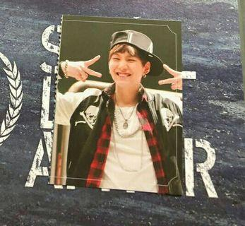 [🆓 Pos] BTS Suga Luv Skool official Photocard