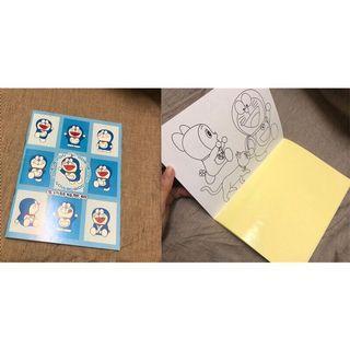 哆啦a夢 Doraemon👀多功能貼紙手冊 繪本貼紙手冊