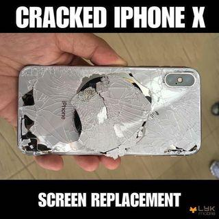 Promo! IPhone X Repair at your home / any location 9025 2185