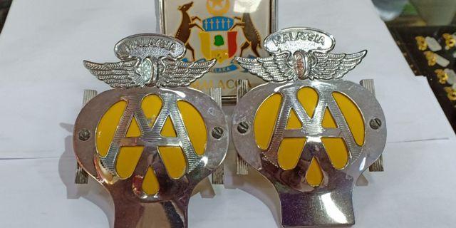 AA Badge  50's 60's Vintage