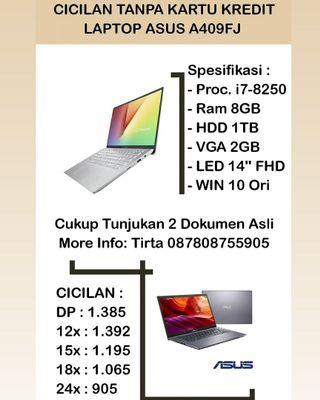 Laptop Asus A409FJ I7 Bisa Cicilan