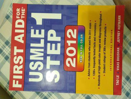 USMLE Step 1 first aid
