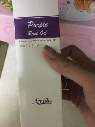 Amida玫瑰髮油