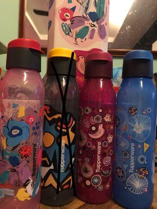 Tupperware funky fun eco bottle 500ml