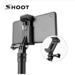 SHOOT Phone Clip Holder to Gopro Tripod Accessories for Smartphones
