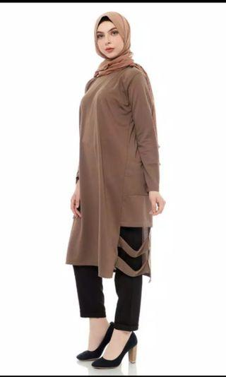 [Reprice] Tunik / blouse / midi dress mybamus bigsize