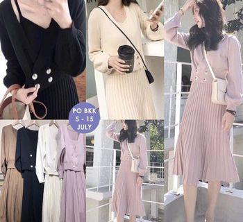 One set dress Import Bangkok ( inner dan outer)