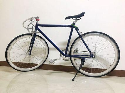[二手]單車 9成新 College bike 第二季 - 丈青色(牛角把手)