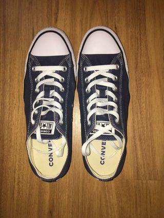 [COD Only] Converse Low Cut (Navy Blue)