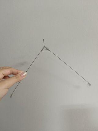 釣蝦用天秤/ 記憶鋼絲線
