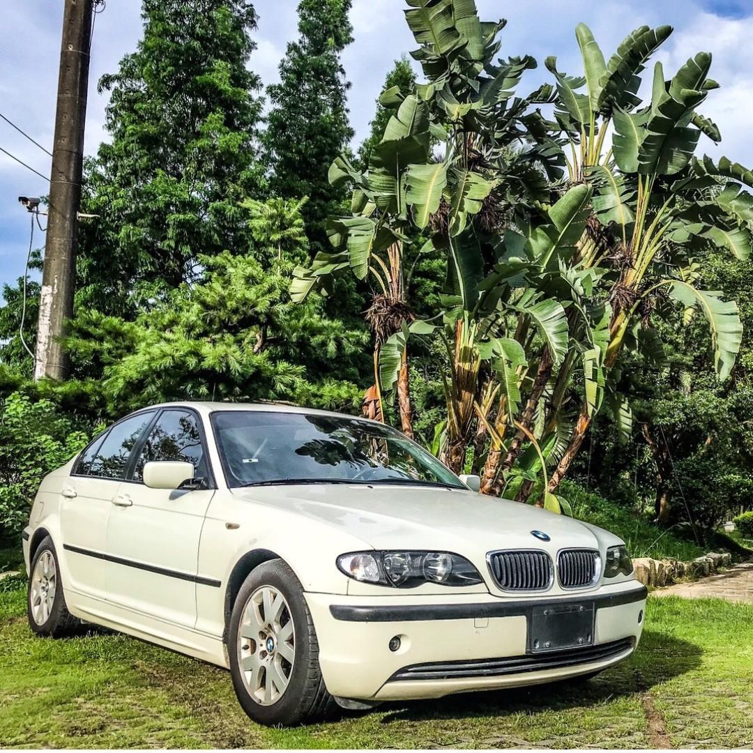 2002年BMW E46 318i 車在桃園
