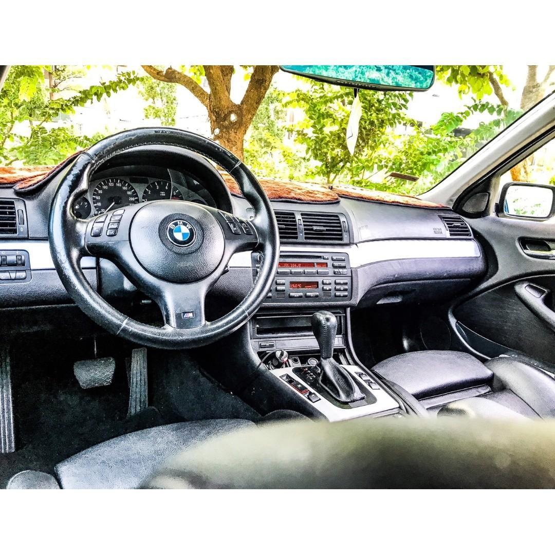 2005年BMW E46 318i 銀 車在桃園