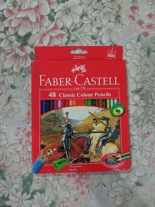 FABER CASTELL Pensil Warna 48 Classic Colour pencils