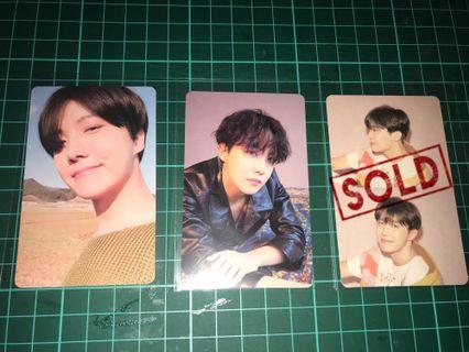 [WTS] BTS Persona JHOPE Photocard