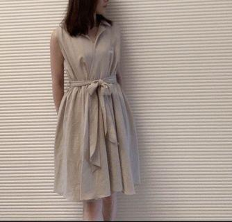 《2手》雪紡洋裝,size:s/m