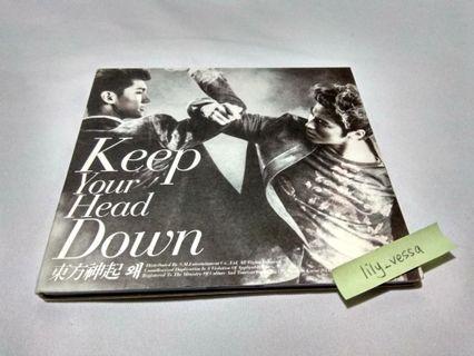 TVXQ Keep Your Head Down album