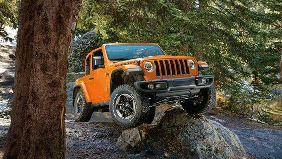 Jeep Wrangler Sahara 2-Door