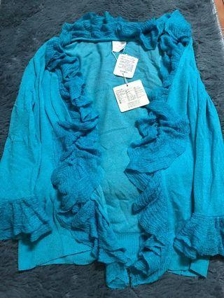 百貨專櫃法國娃娃poupine針織花朵小外套