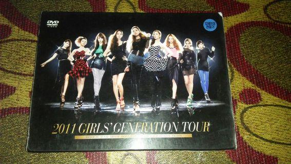 ❤Preloved album GIRLS GENERATION ALBUM DVD OFFICIAL UNSEALED 2011 GIRLS GENERATION TOUR CONCERT