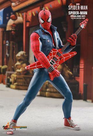 hot toys spider man punk