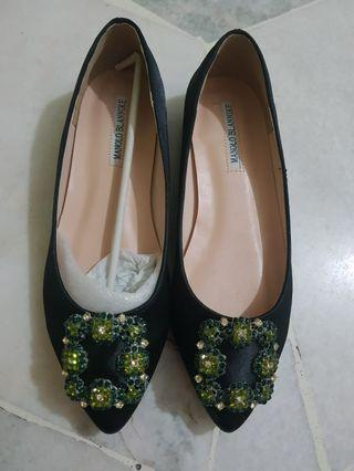 Inspired Monolo Blahnik Flat Shoes